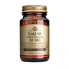 SOLGAR COENZYME Q-10  30mg veg. 30caps