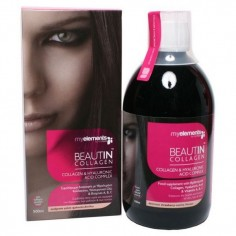 MY ELEMENTS BEAUTIN COLLAGEN ΦΡΑΟΥΛΑ-ΒΑΝΙΛΙΑ  500ml