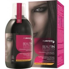 MY ELEMENTS BEAUTIN COLLAGEN & HYALLURONIC ACID ΜΑΝΓΚΟ-ΠΕΠΟΝΙ  500ml