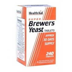 HEALTH AID BREWERS YEAST 300mg. 240 tablets