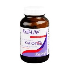 HEALTH AID KRILL LIFE OIL  90caps