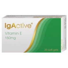 IGACTIVE VITAMIN E 150 mg 20caps