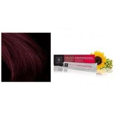APIVITA NATURE'S HAIR COLOR Professional  4.65 ΚΑΣΤΑΝΟ ΚΟΚΚΙΝΟ ΜΑΟΝΙ  50ml