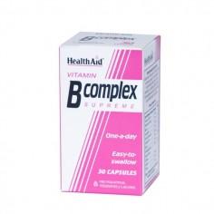 HEALTH AID VIT. B-Complex Supreme 30 caps
