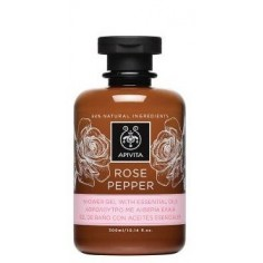 APIVITA ROSE PEPPER Αφρόλουτρο 300ml