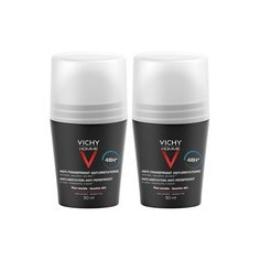VICHY Homme Deo Roll-on Sensitive 48h 50ml 2τμχ