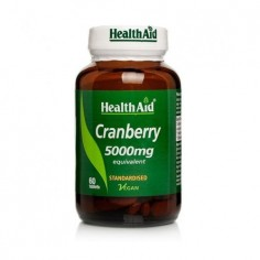 HEALTH AID CRANBERRY 5000MG 60TAB