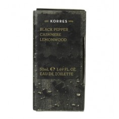 KORRES  ΑΡΩΜΑ ΑΝΔΡΙΚΟ BLACK PEPPER CASHMERE & LEMONWOOD 50ml