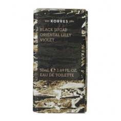 KORRES ΑΡΩΜΑ ΓΥΝΑΙΚΕΙΟ BLACK SUGAR, ORIENTAL LILLY & VIOLET 50ml