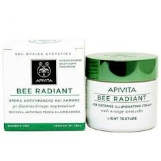 APIVITA BEE RADIANT κρέμα αντιγήρανσης και λάμψης ελαφριάς υφής 50ml