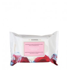 KORRES POMEGRANATE CLEANSING WIPES 25wipes