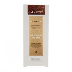 KORRES ABYSSINIA COLORANT  6.43 COPPER GOLDEN DARK BLOND 50ml