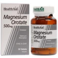 HEALTH AID MAGNESIUM 500mg. 30 tablets