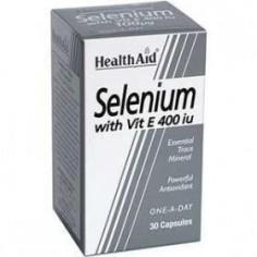 HEALTH AID Selenium 100ug with Vitamin E 400iu 30caps