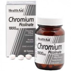HEALTH AID Chromium Picolinate 200μg 60caps