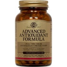 SOLGAR ADVANCED ANTIOXIDANT FORMULA veg.120caps