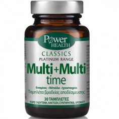 POWER Classics Platinum Multi + Multi Time 30 tablets