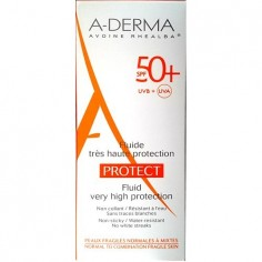 ADERMA SUN PROTECT FACE Fluide 50+spf 40ml