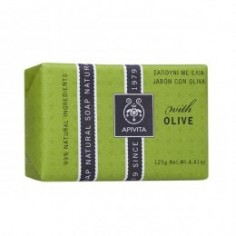 APIVITA NATURAL OLIVE SOAP  125gr