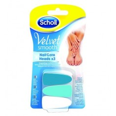 DR. SCHOLL  Velvet Smooth Nail Care System Refill 3HEADS