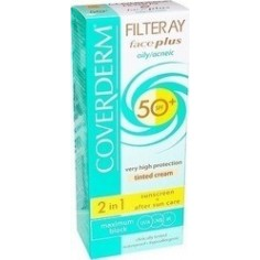 COVERDERM FILTERAY FACEPLUS DRY/SENSITIVE SKIN SPF50+ 50ml