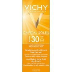 VICHY ideal soleil   Emulsion anti-brillance  dry touch 30spf 50ml