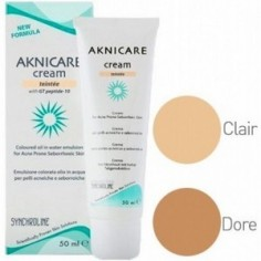 SYNCHROLINE AKNICARE Cream Teinte Clair 50ml