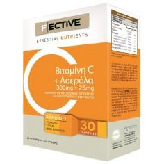 F/ECTIVE Vitamin C+Acerola 30 tabs