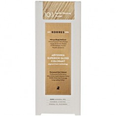 KORRES ABYSSINIA COLORANT 10.1 PLATINUM SANTRE BLONDE 50ml