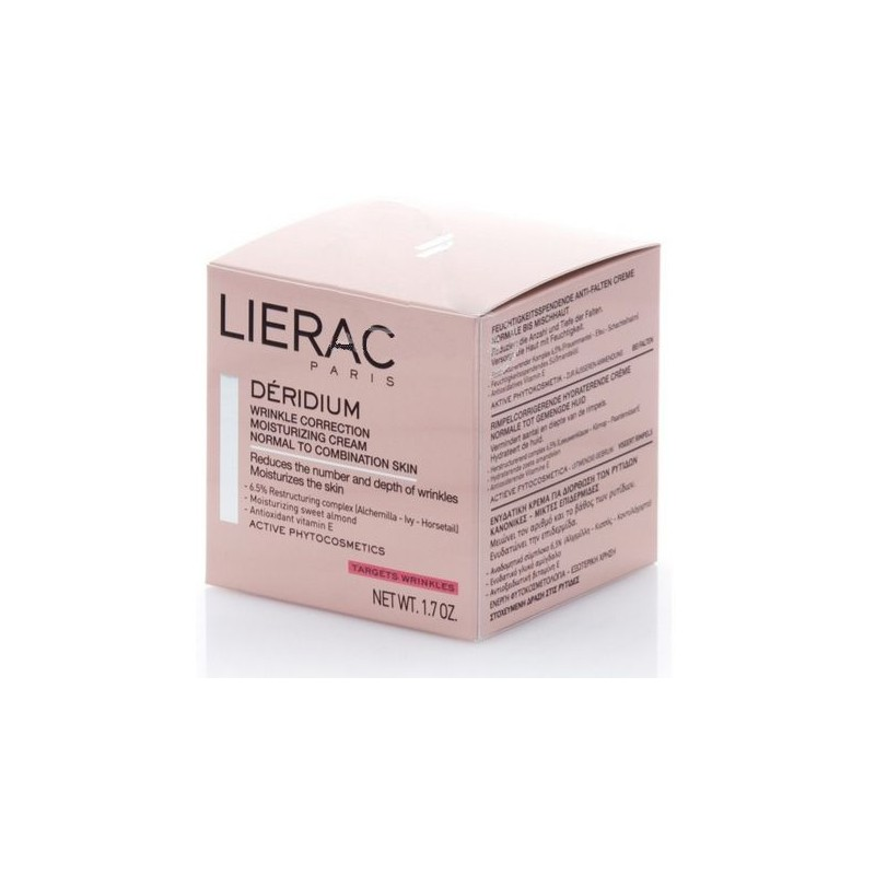 lierac deridium creme hydratante 50ml. Black Bedroom Furniture Sets. Home Design Ideas