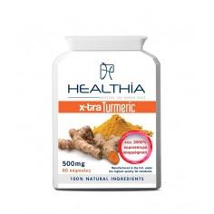 HEALTHIA TURMERIC  500mg 60caps