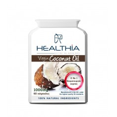 HEALTHIA VIRGIN COCONUT OIL 1000mg 60caps