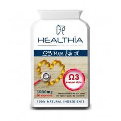 HEALTHIA OMEGA 3 1000mg 90caps