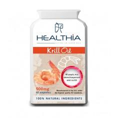 HEALTHIA  KRILL OIL  500mg  60caps