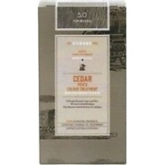 KORRES HAIR DYE CEDAR MEN'S 5.0 NATURAL GREY