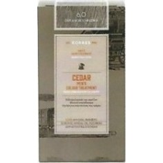KORRES HAIR DYE CEDAR MEN'S 6.0 NATURAL LIGHT GREY