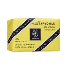 APIVITA Natural Soap Χαμομήλι 125gr