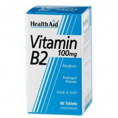 HEALTH AID VIT. B2 (Riboflavin) 100mg 60tabs