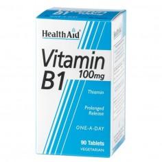 HEALTH AID VIT. B1 (Thiamin HCl) 100mg 90tabs