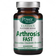 POWER HEALTH Classics Platinum ARTHROSIS FAST 20CAPS