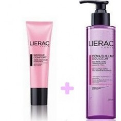ΠΡΟΣΦΟΡΑ   LIERAC DEMAQ DOUCEUR 200ml + MASQUE CONFORT 50ml