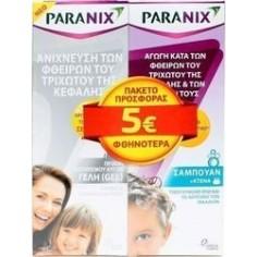 PARANIX Σαμπουάν 200ml + Gel 150ml