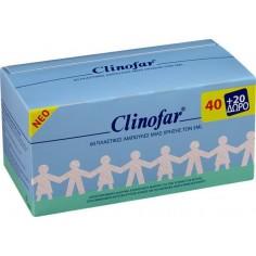 CLINOFAR Amp. 40τμχ. + 20τμχ. Δώρο
