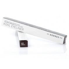 Korres Volcanic Minerals Khol Eyeliner Brown 02 - 1,14gr