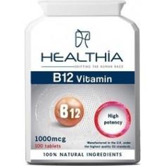 HEALTHIA B12 1000mg  100caps