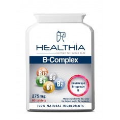 HEALTHIA B-COMPLEX  275mg  60caps