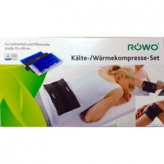 ROWO COLD/HEAT COMPRESS SET 15x28cm
