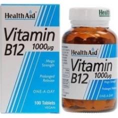 HEALTH AID VIT. B12 1000μg  100vegetabs