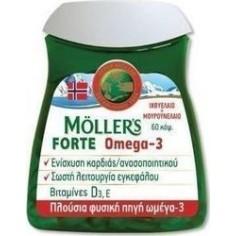 MOLLERS ΜΟΥΡΟΥΝΕΛΑΙΟ FORTE OMEGA-3  60 Caps
