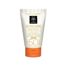 APIVITA SUN Face Cream 50+spf Antispot Tinted Cream 50ml